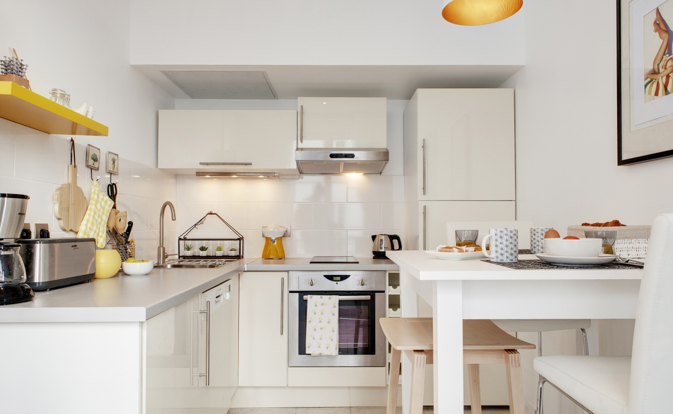 9 действенных приемов увеличения пространства небольшой кухни