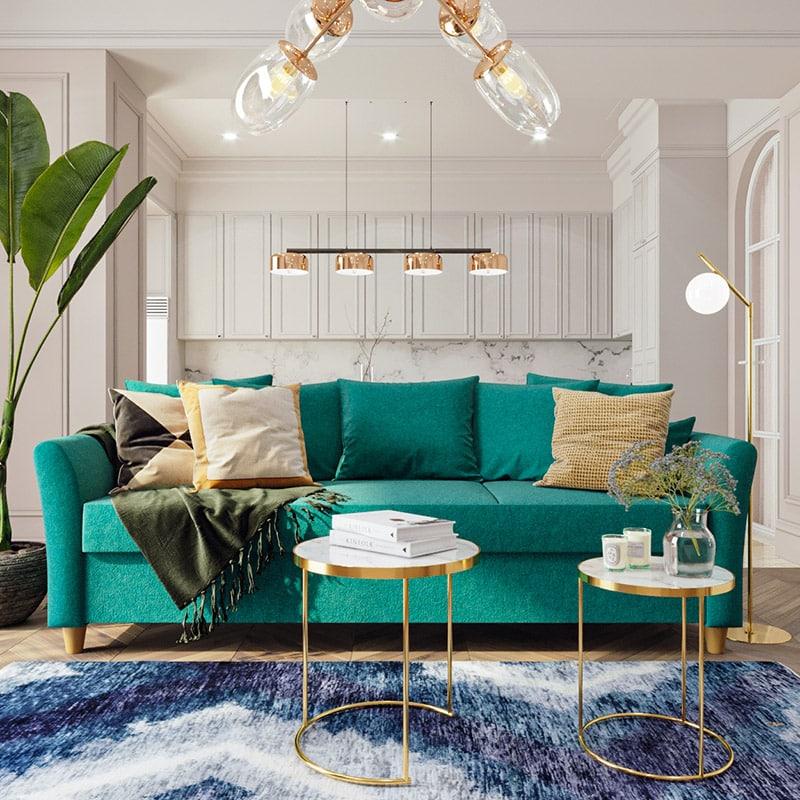 Изысканные дизайнерские диваны от магазина Gramercy-home