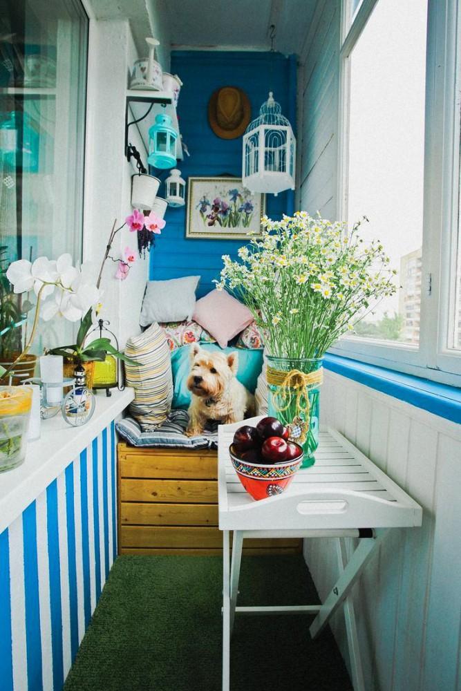 5 идей по обустройству очень узкого балкона
