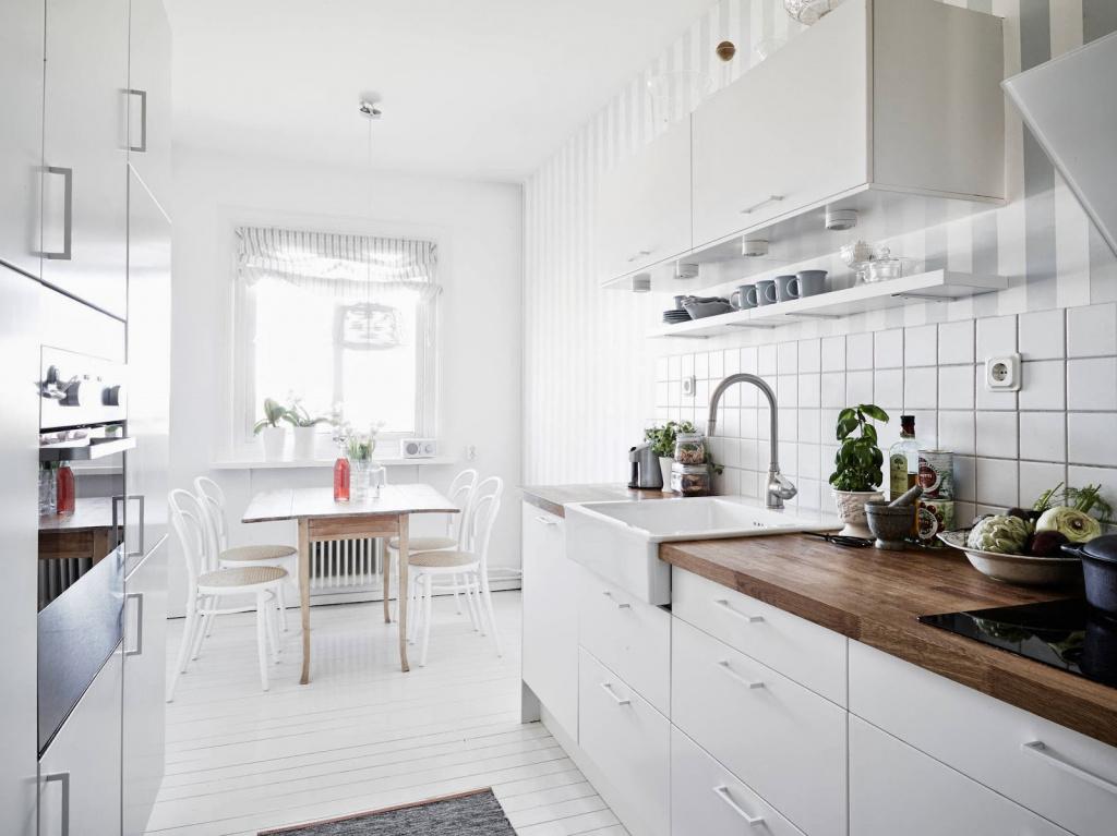 Белые кухни: за и против