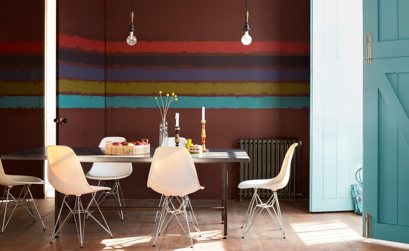Обновляем интерьер: яркие и простые способы покраски стен