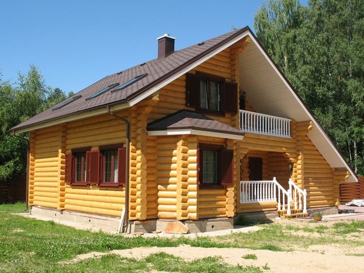 Современные деревянные избы