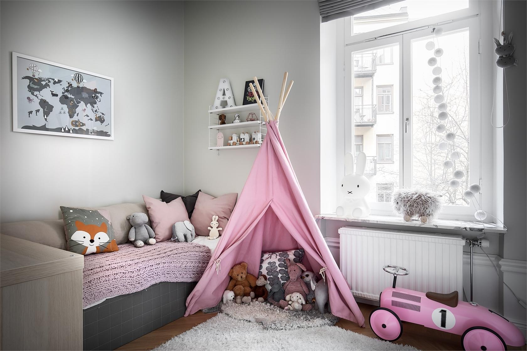 Не игрушки: оформление детской комнаты