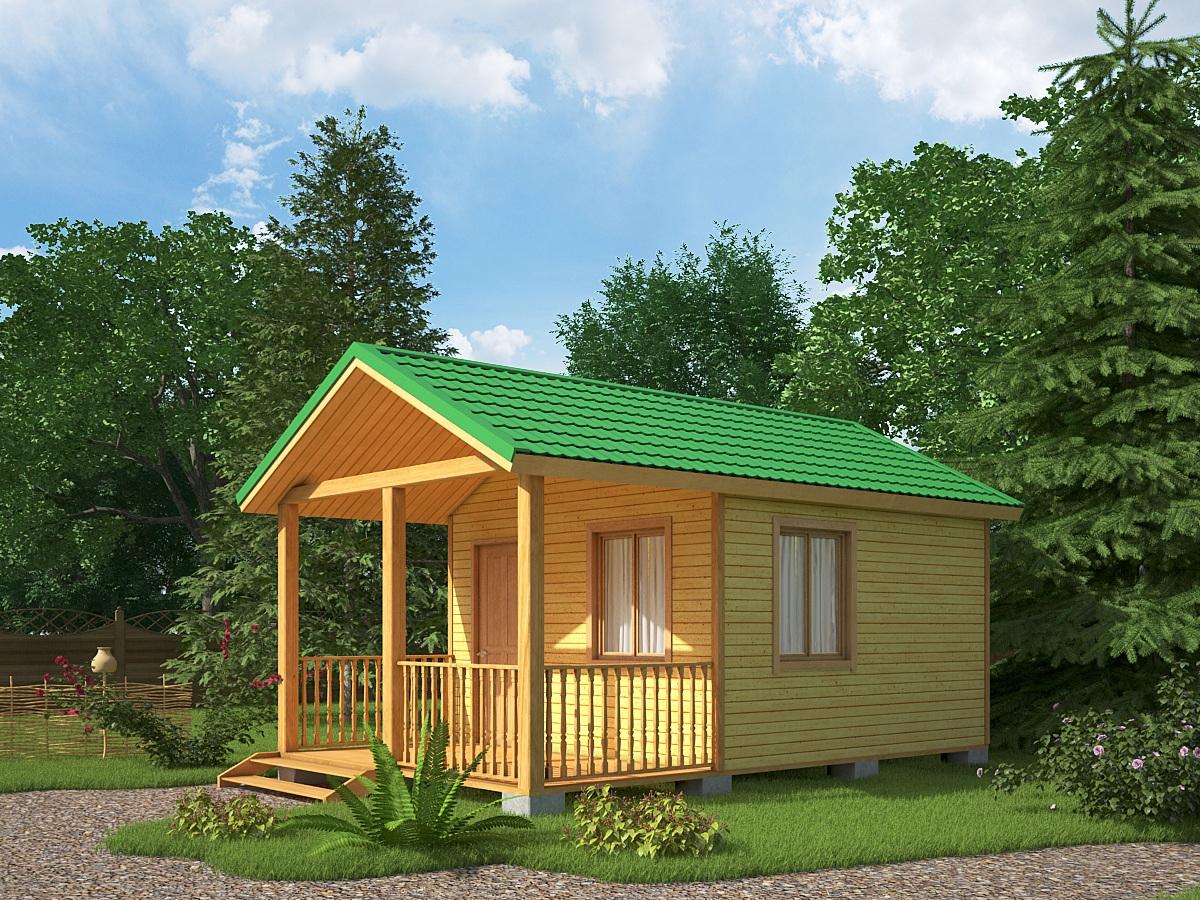 Возводим современный каркасный дачный домик