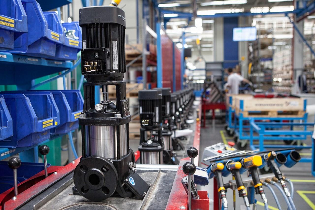 Техническое обслуживание установок от компании Grundfos