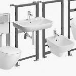 Инсталляция: современная сантехника в ванной комнате