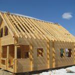 Возведение домов из бруса