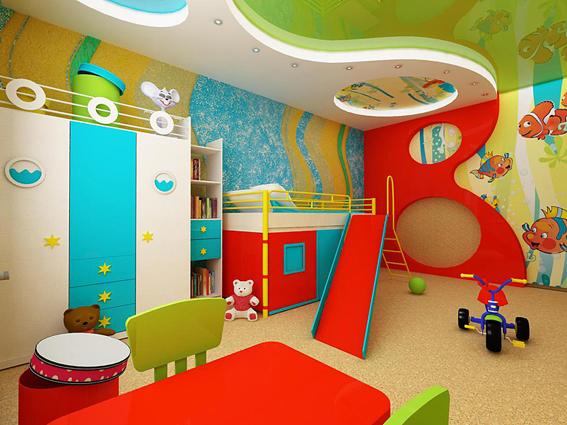 Детская: зона для игр или сна?