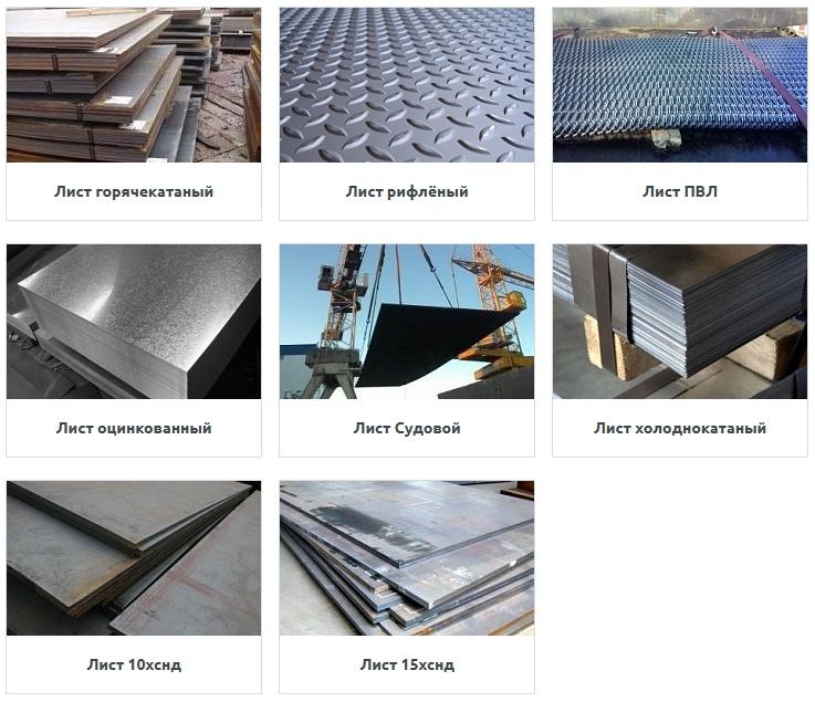 Виды обработки листового металла