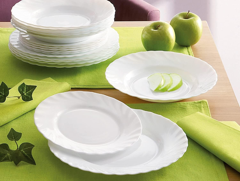 Идеальные тарелки для сервировки от компании Luminarc