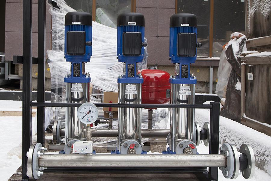 Заказать станцию повышения давления в системах водоснабжения
