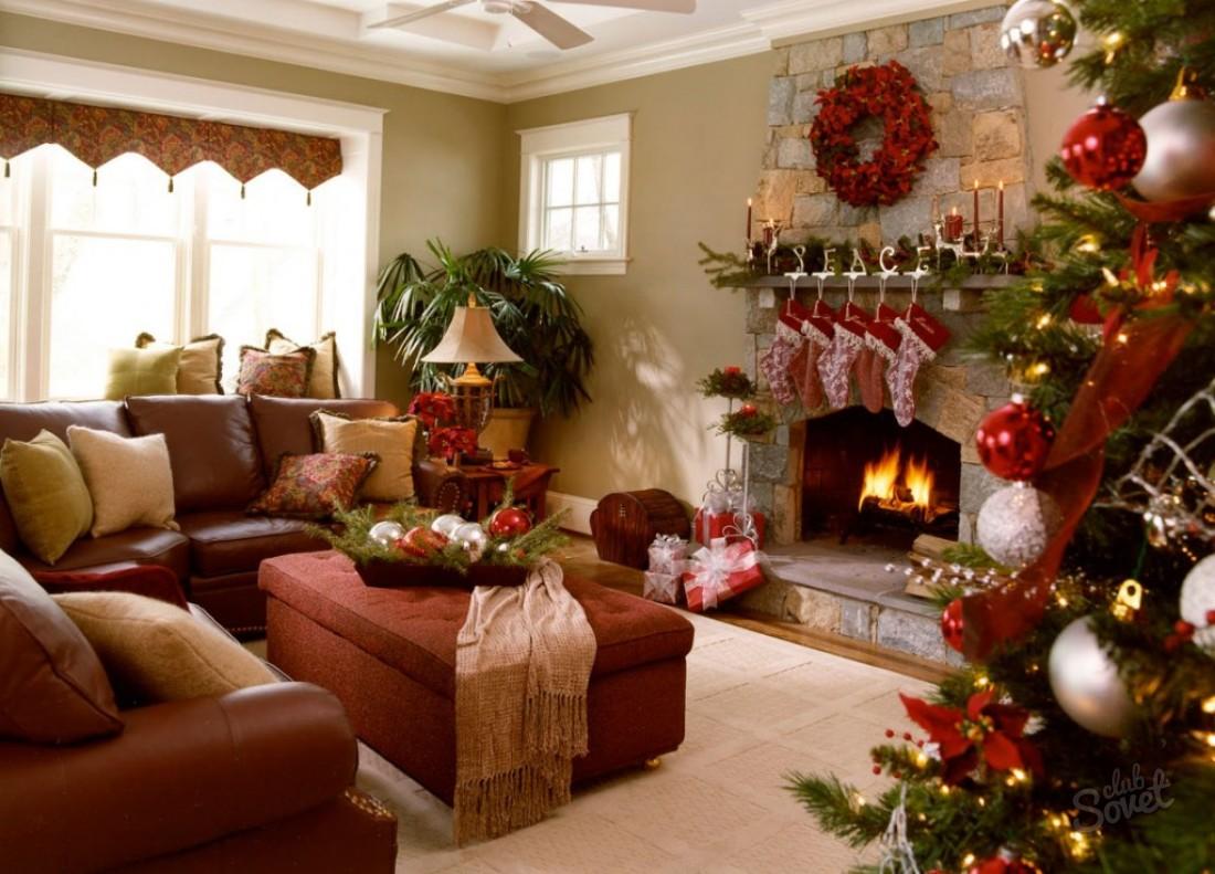 Пусть будет ярко! Как украсить дом к Новому году