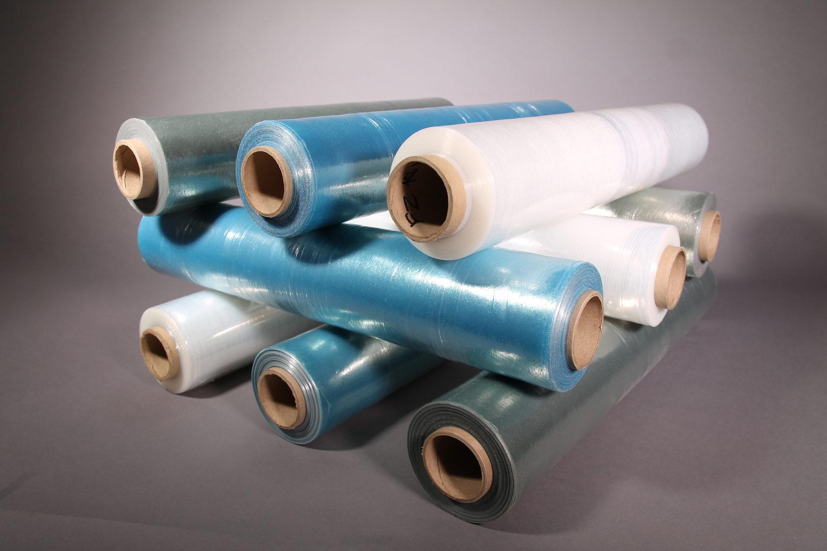 Использование полиэтиленовой и стрейч пленки