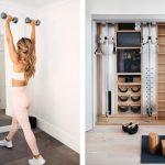 Домашний спортзал: как организовать пространство