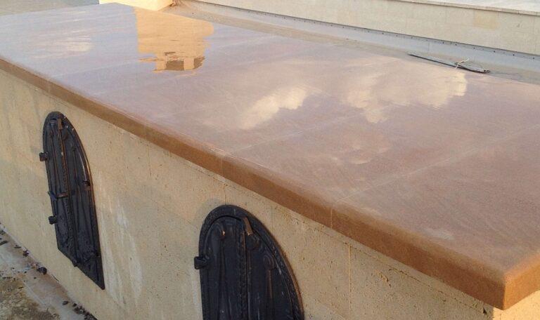 Этапы изготовления столешницы из природного камня