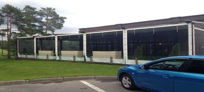 Полимерные шторы