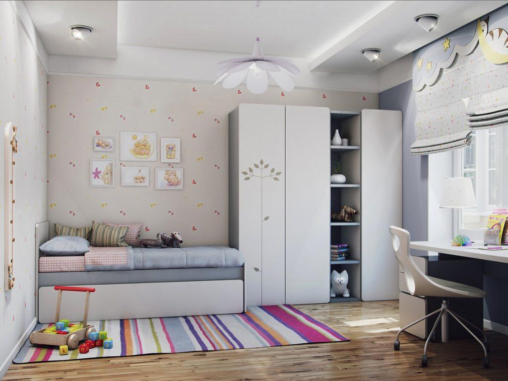 Какой должна быть обстановка детской комнаты?