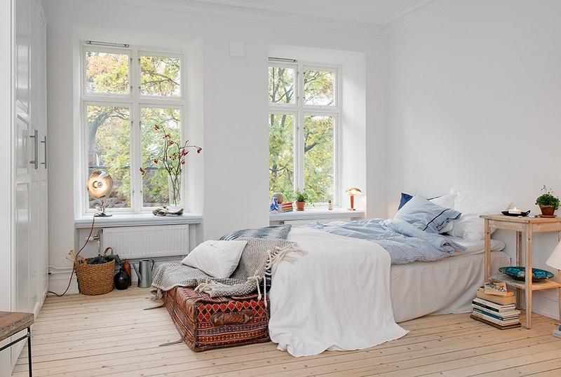 Дизайн спальни в скандинавском стиле: свежесть и уют северных просторов