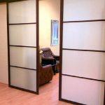 Особенности раздвижных дверей