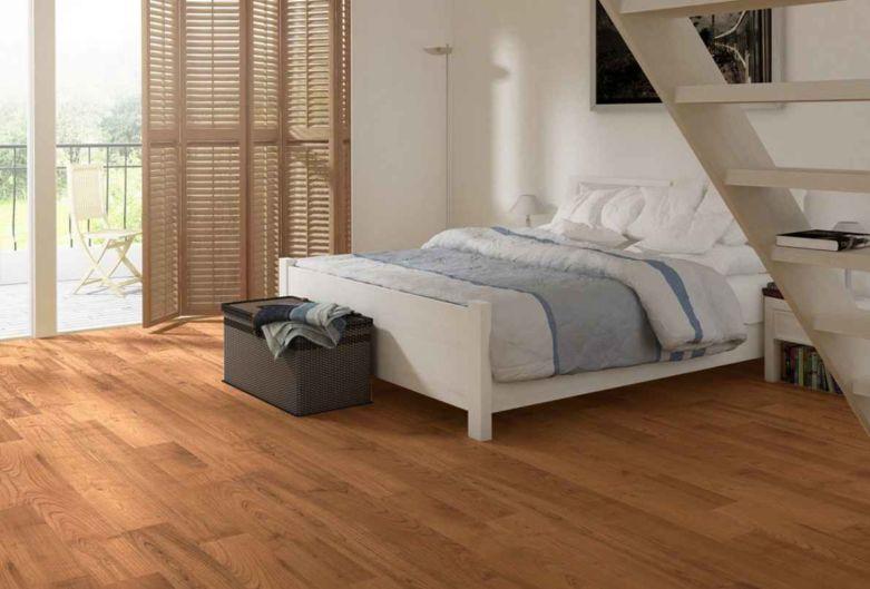 Подборка напольных покрытий из ламината для спален