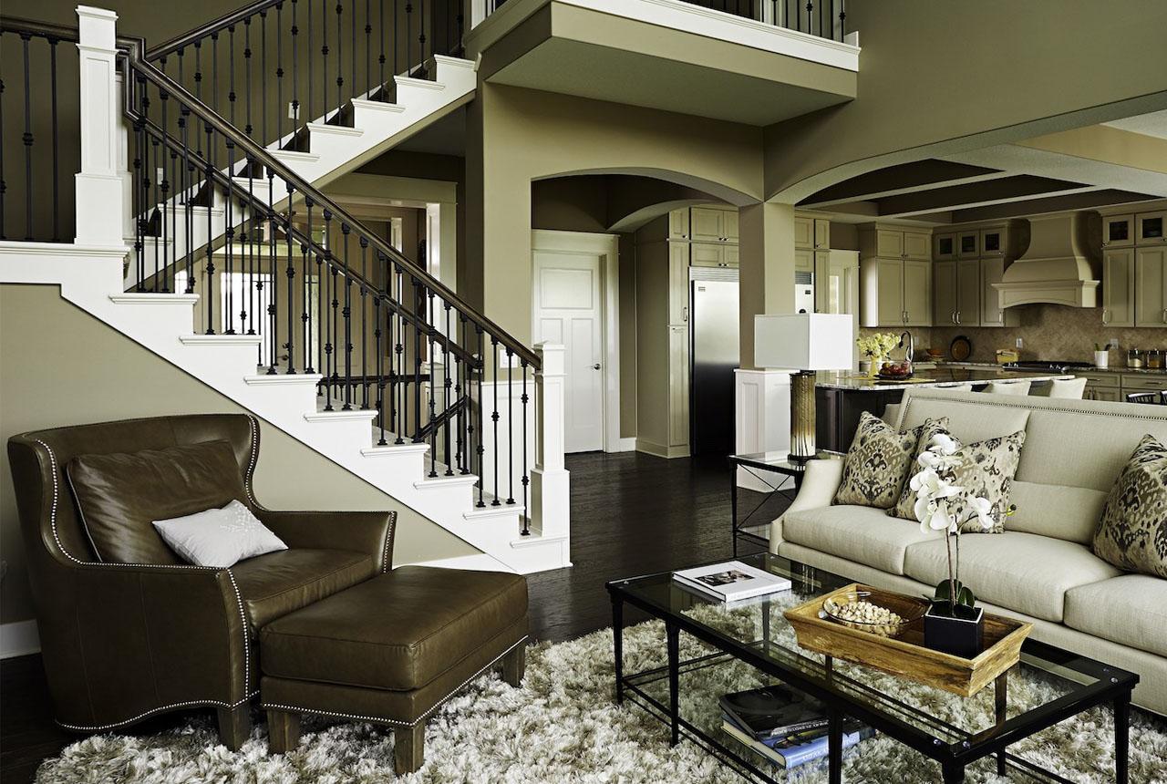 Что учитывать при создании интерьера двухэтажного дома?