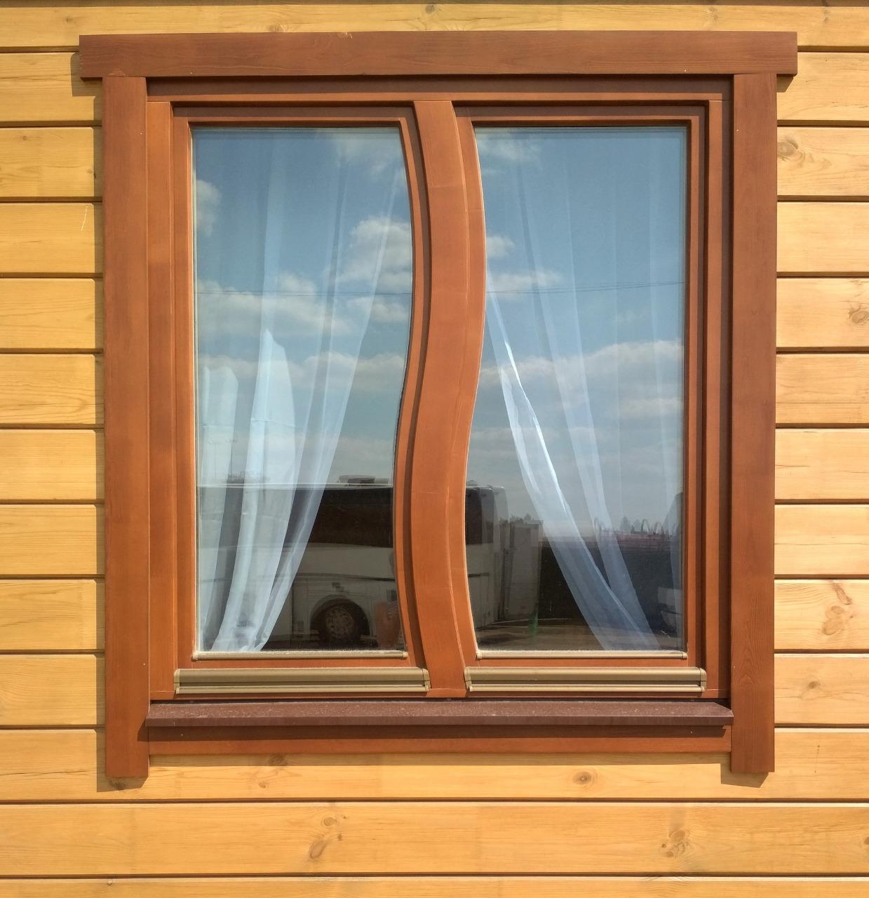 Использование деревянных окон