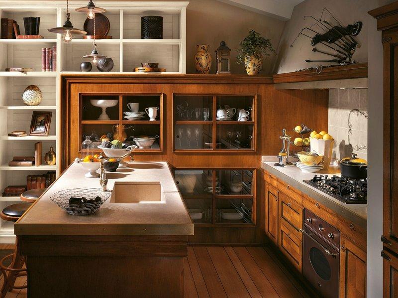 12 идей для дизайна кухни с открытыми полками