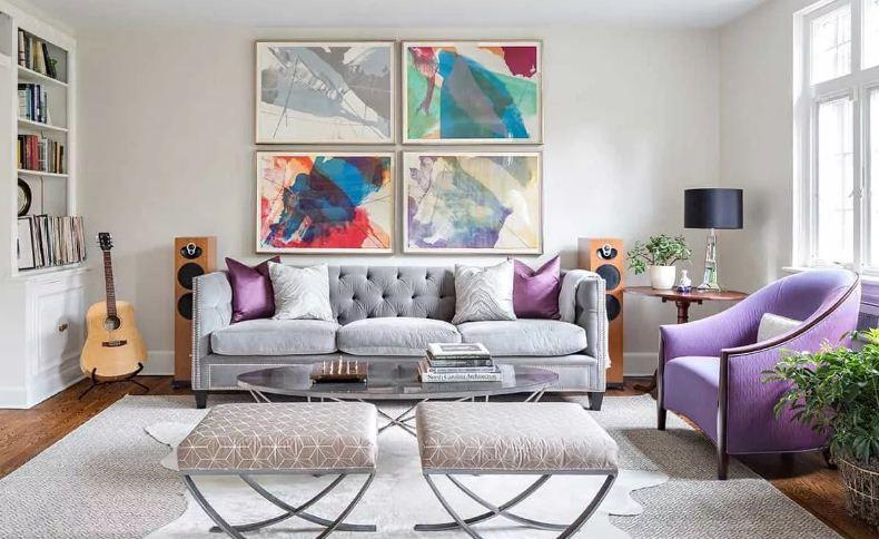 Выбираем цвет для дизайна квартиры