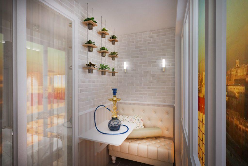 4 функциональные идеи для дизайна балкона площадью 3 кв. м