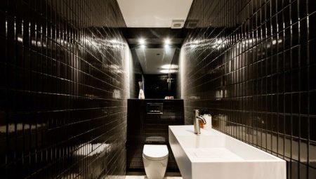 Черный туалет: плюсы и минусы, рекомендации по отделке и примеры