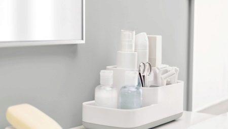 Органайзеры для ванной комнаты