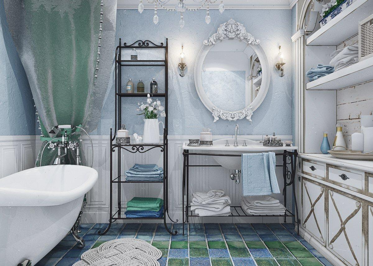 Как создать современную ванную, если вы обожаете стиль винтаж