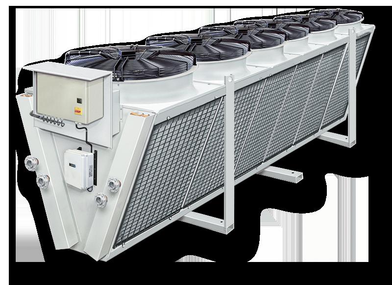 Выбираем и приобретаем конденсатор воздушного охлаждения