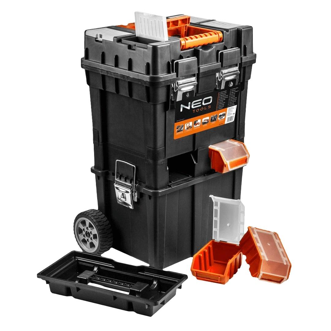 Обзор рюкзака на колесах для инструмента Neo Tools