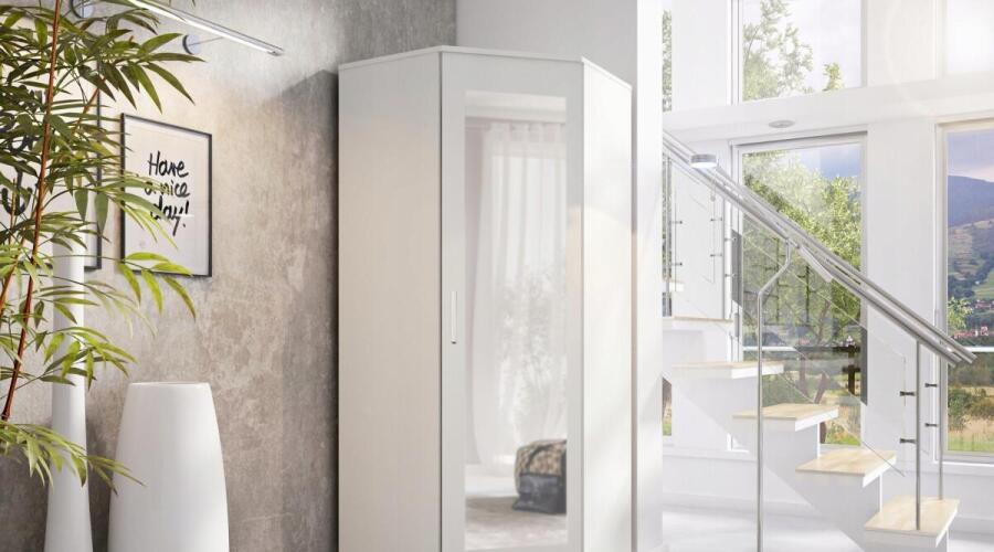 Чем хорош угловой шкаф в интерьере дома?