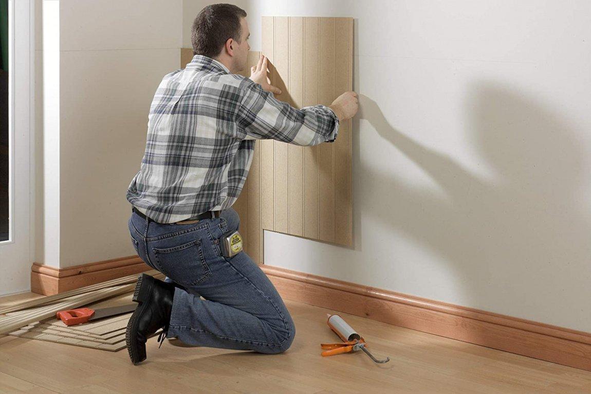 Какой клей лучше для стеновых панелей МДФ?