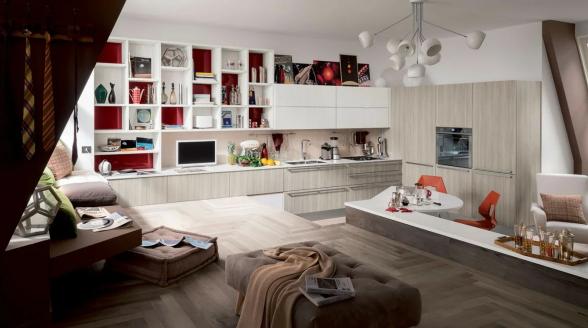 Кухня как гостиная — создайте гармоничный интерьер