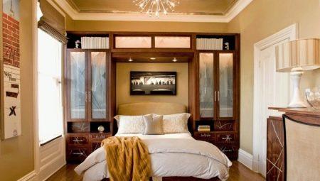 Как подобрать мебель для маленькой спальни?