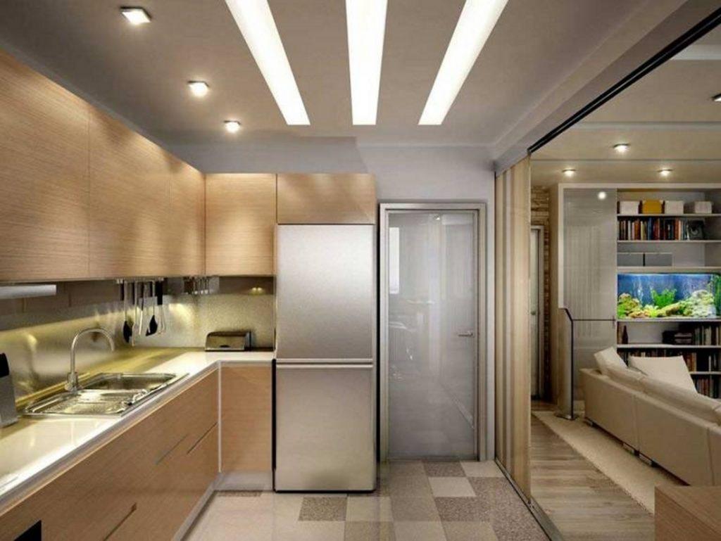Кухня: планировка и освещение