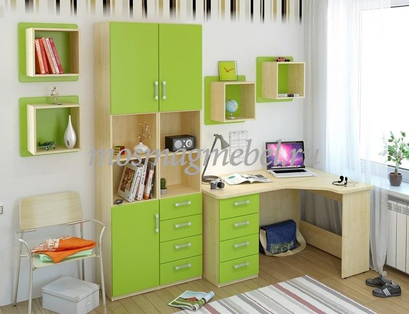 Как выбрать и разместить мебель в комнате ребёнка школьного возраста