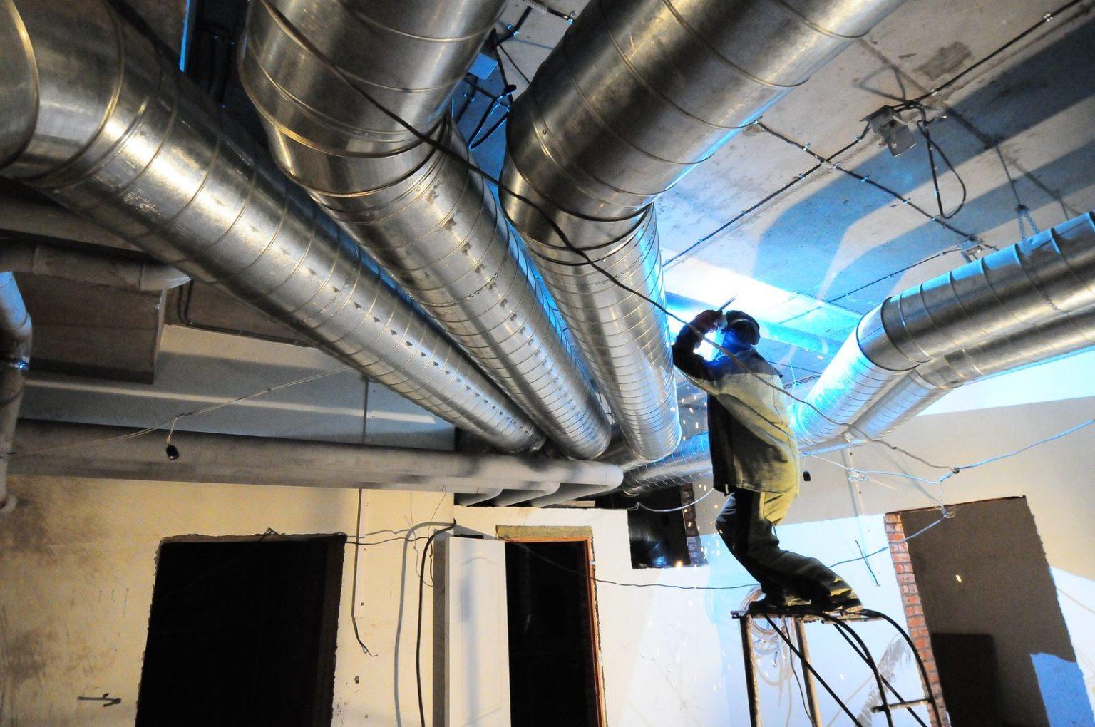 Особенности установки вентиляционной системы и воздуховодов