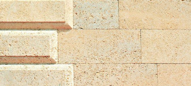Песчаник для фасада