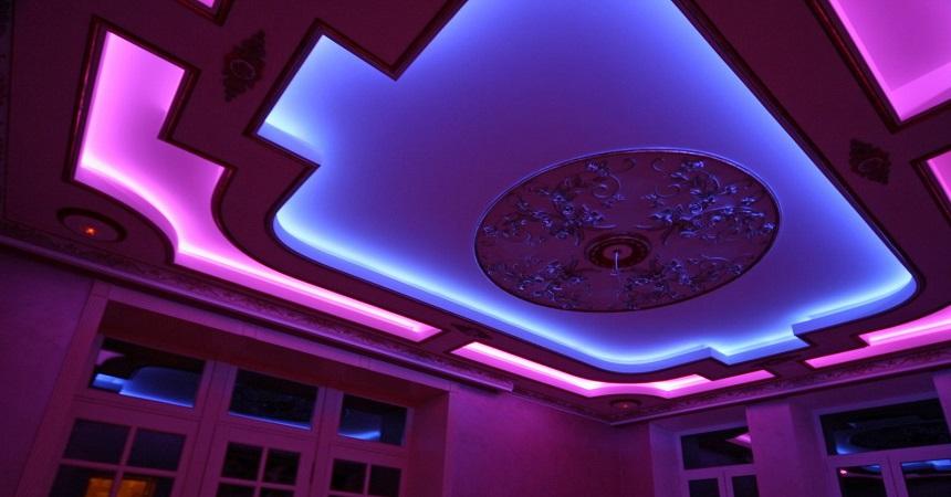 Преимущества и особенности светодиодной подсветки для потолков