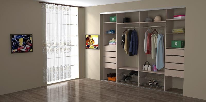 Выбираем шкаф-купе: встраиваемый или корпусный