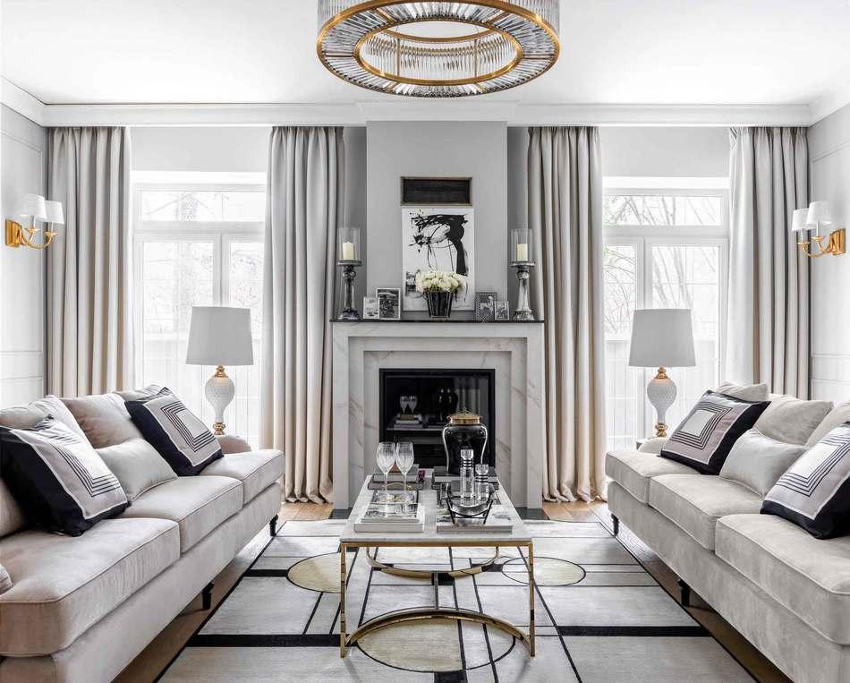 Интерьер зала в классическом стиле: отличные варианты дизайна