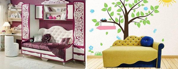 Критерии выбора детского дивана: какие они?