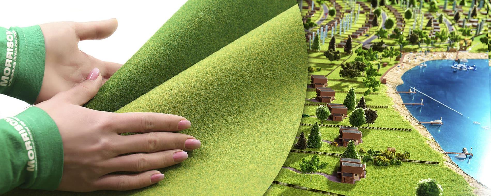 Макеты домов и ландшафтов — способы изготовления и масштабы