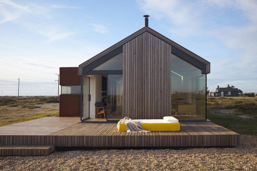 Интерьер деревянного дома: изучаем тенденции оформления