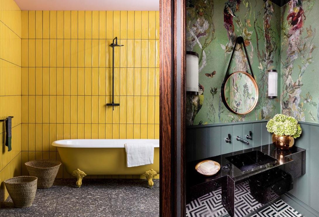 Дизайн ванной комнаты 2021: что нового