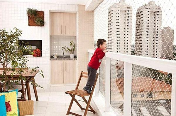 Средства безопасности для балкона